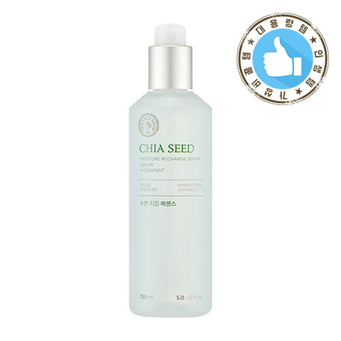 [THE FACE SHOP] Chia Seed Moisture Recharge Serum (Big Size)