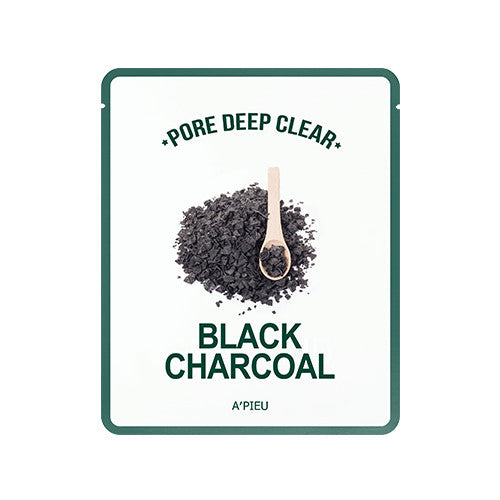 [APIEU] Pore Deep Clear Black Charcoal Mask