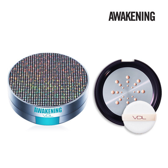 [VDL] Expert Metal Cushion Foundation (Awakening) - Refill+Case