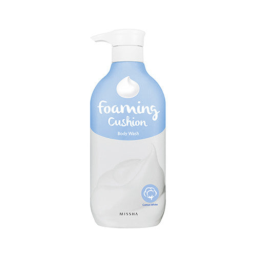 [MISSHA] Foaming Cushion Body Wash [Cotton White]