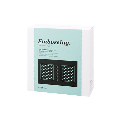 [MISSHA] Embossing Cotton Puff
