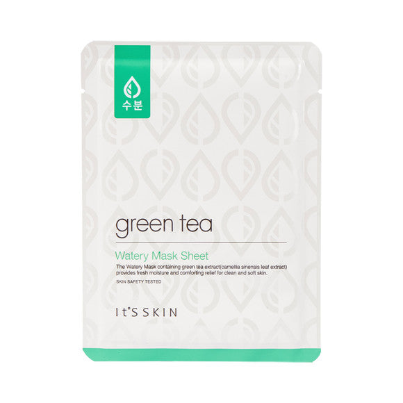 [IT'S SKIN] Green Tea Watery Mask Sheet
