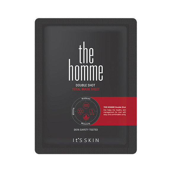 [It'S SKIN] The Homme Double Shot Total Mask Sheet