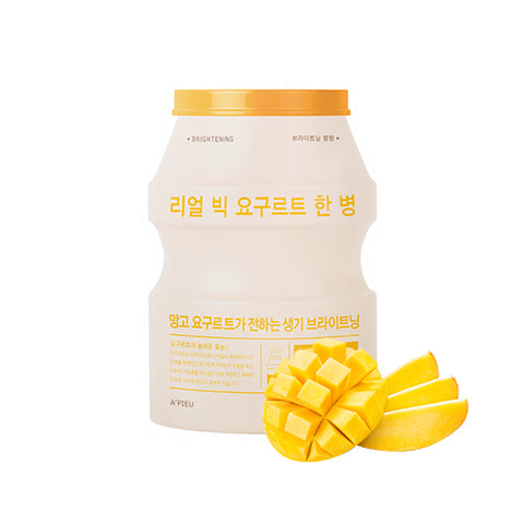 [APIEU] Real Big Yogurt One Bottle - Mango