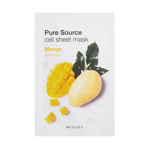 [MISSHA] Pure Source Cell Sheet Mask - Mango