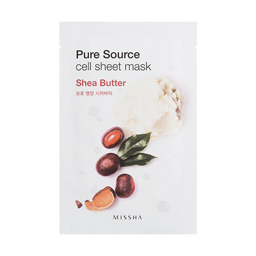 [MISSHA] Pure Source Cell Sheet Mask - Sheer Butter