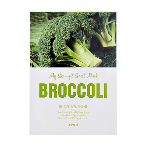 [APIEU] My Skin - Fit Sheet Mask [broccoli]