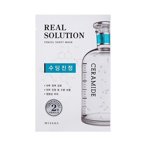 [MISSHA] Real Solution Tencel Sheet Mask [Ceramide]