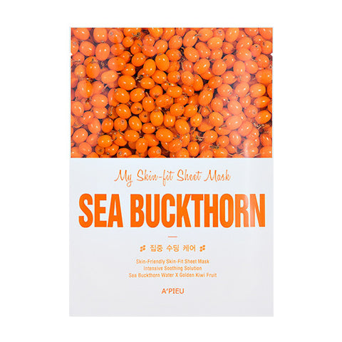 [APIEU] My Skin - Fit Sheet Mask [Sea Buckthorn]