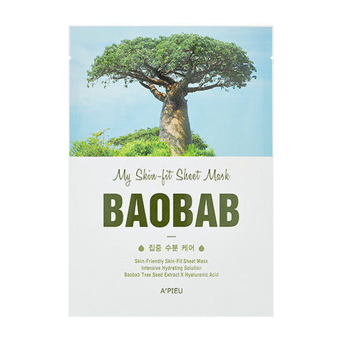 [APIEU] My Skin - Fit Sheet Mask [Baobab]