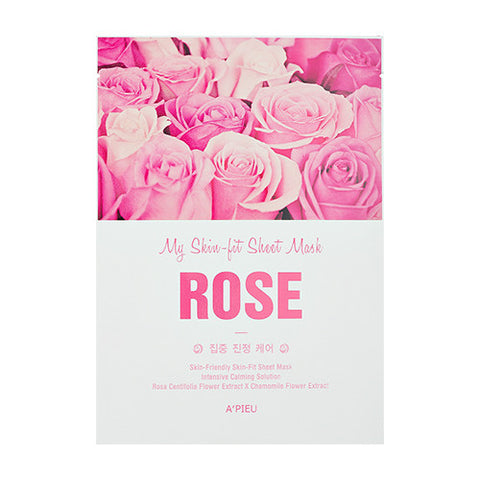 [APIEU] My Skin - Fit Sheet Mask [Rose]
