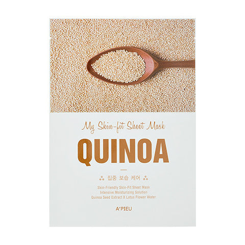[APIEU] My Skin - Fit Sheet Mask [Quinoa]