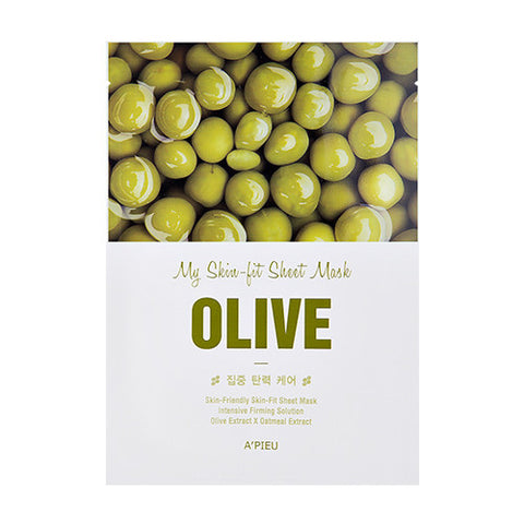 [APIEU] My Skin - Fit Sheet Mask [Olive]