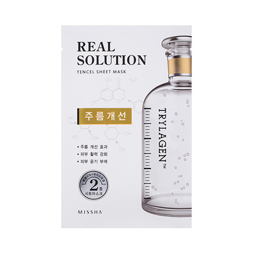 [MISSHA] Real Solution Tencel Sheet Mask [Irylagen]