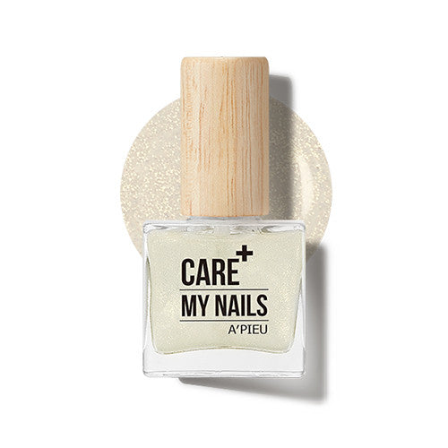 [APIEU] Care My Nails [Pearl Top Coat_Gold]
