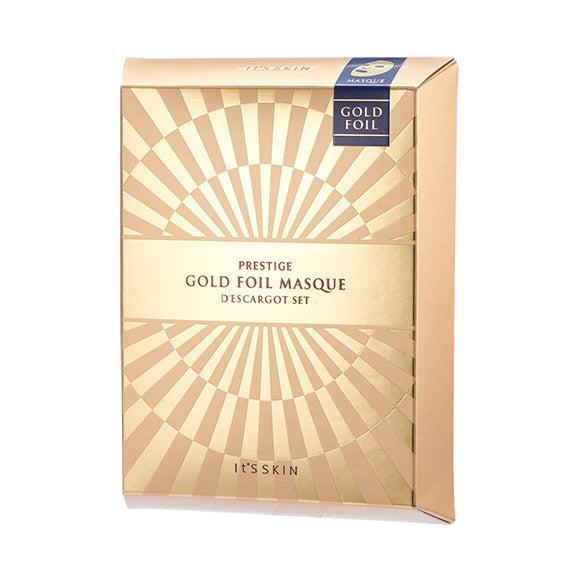[It'S SKIN] PRESTIGE Gold Foil Masque d'escargot