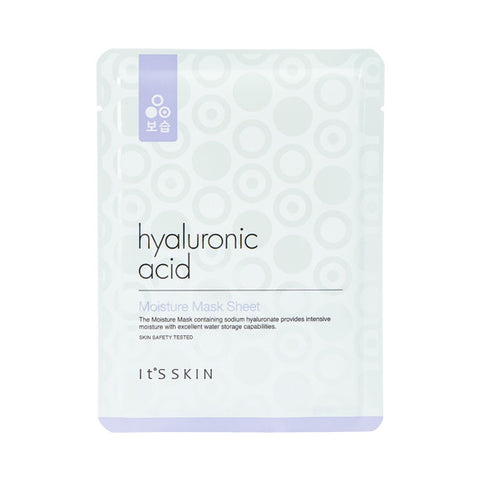 [IT'S SKIN] Hyaluronic Acid Moisture Mask Sheet