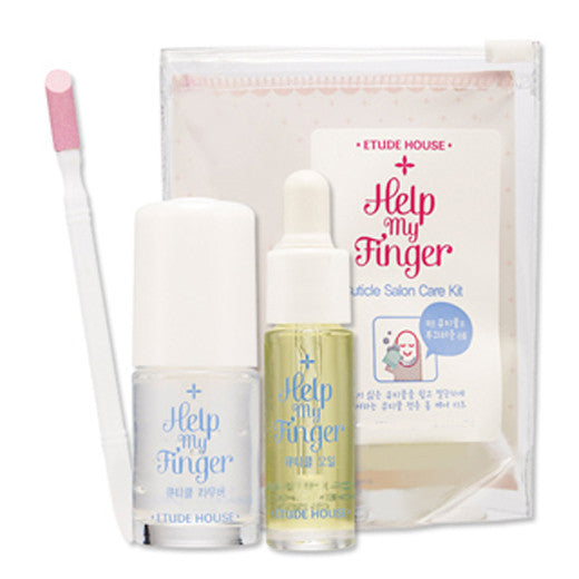 ETUDE HOUSE Help My Finger Cuticle Salon Care Kit (8ml+3.5ml+1ea)