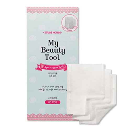 ETUDE HOUSE My Beauty Tool 3 Layer Cotton Puff