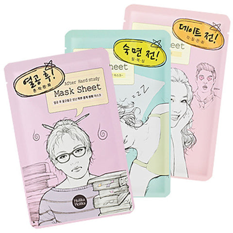 Holika Holika Before & After Mask Sheet