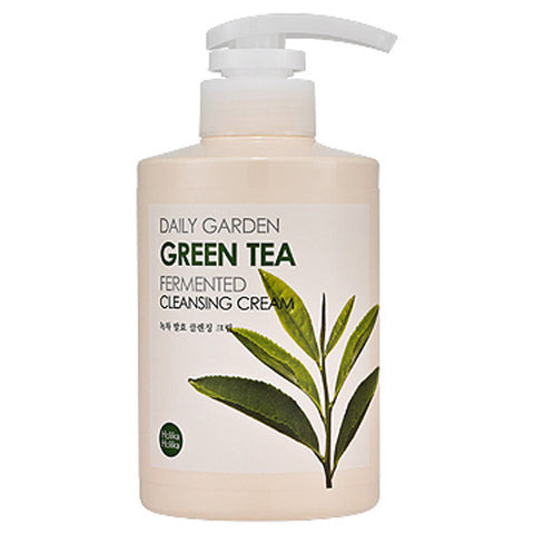 Holika Holika Daily Garden Green Tea Fermented Cleansing Cream