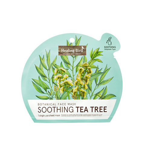 [Healing Bird] Botanical Face Mask Tea Tree