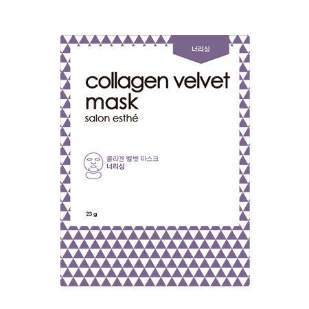 [ARITAUM] Salon Esthe Collagen Velvet Mask