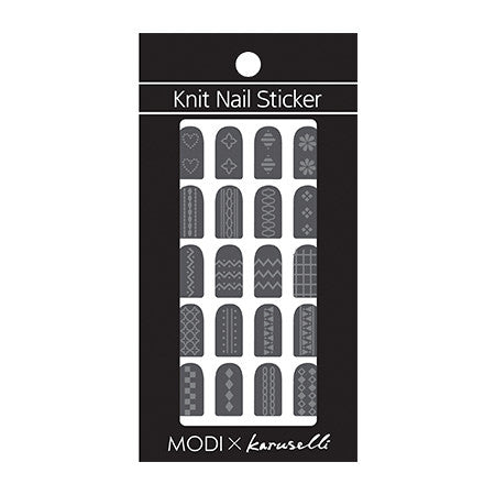 [ARITAUM] MODI Knit Nail Sticker