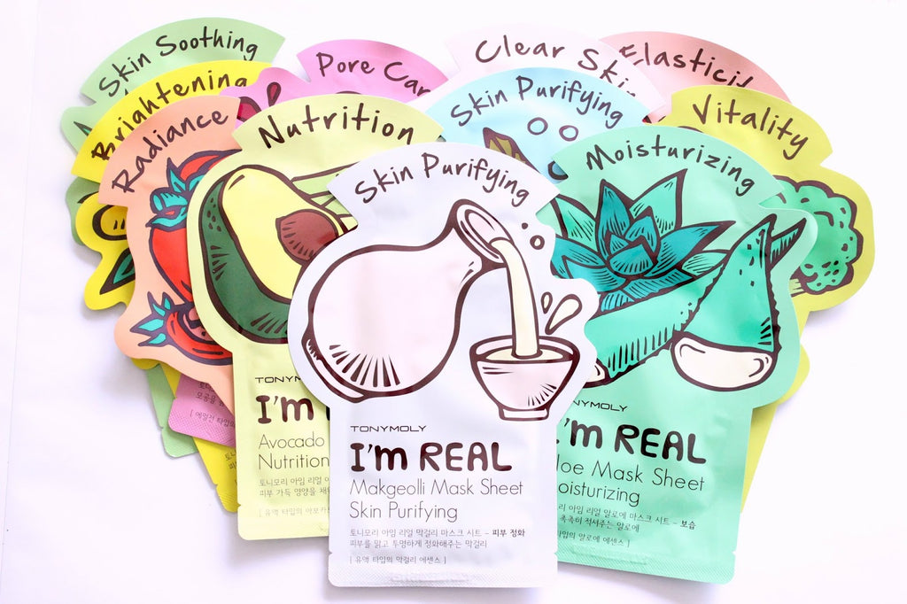 [TONYMOLY] I'm Real Mask Sheet Value Pack (11 sheets)