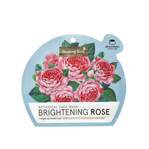 [Healing Bird] Botanical Face Mask Brightening Rose