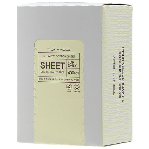 [TONYMOLY] 5 Layer Cotton Sheet