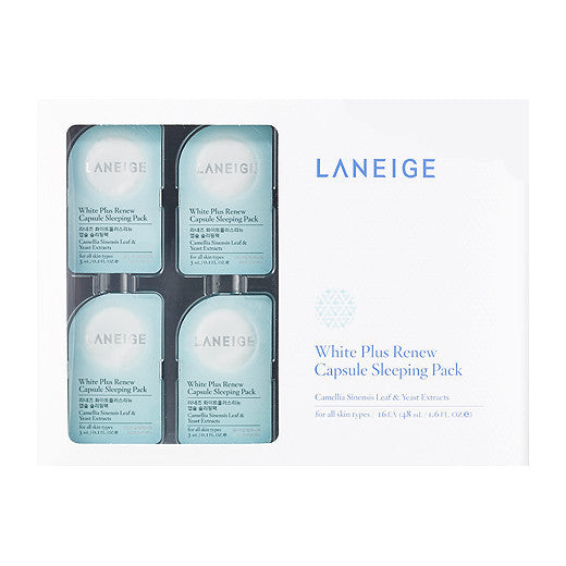LANEIGE White Plus Renew Capsule Sleeping Pack (3ml*16ea)