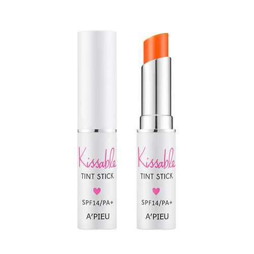 [APIEU] Kissable Tint Stick SPF14/PA+ [OR01]