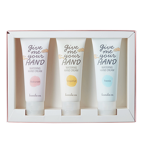 [banila co.] Give Me Your Hand Watering Hand Cream Triple Set