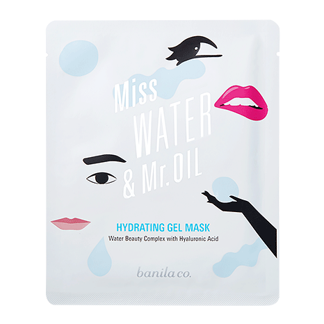 [banila co.] Miss Water & Mr.Oil Hydrating Gel Mask