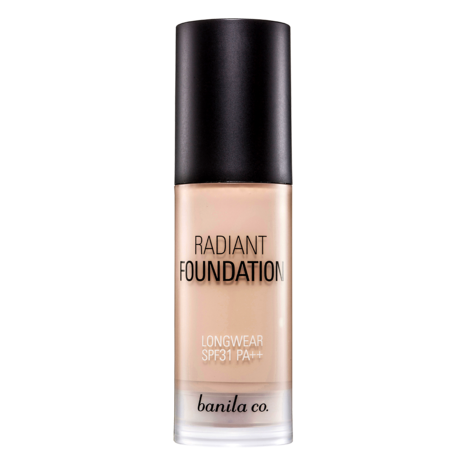 [banila co.] Radiant Longwear Foundation SPF31 / PA++