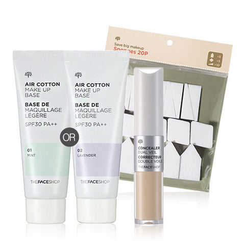 [THE FACE SHOP] (Package) For Best Skin Kit