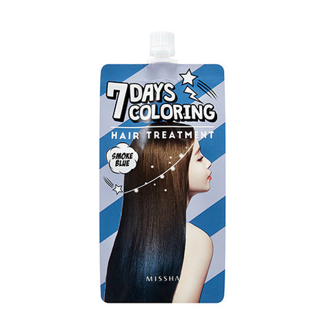 [MISSHA] 7Days Coloring Hair Treatment [Smoke Blue]