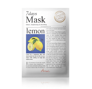[Ariul] 7DAYS MASK LEMON