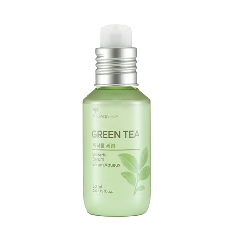 THE FACE SHOP Green Tea Waterfull Serum