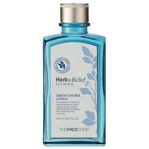 THE FACE SHOP Herb & Relief Homme Sebum Control Lotion