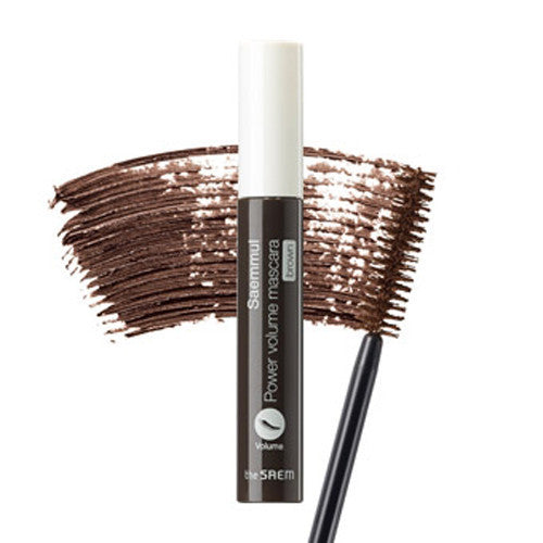 the SAEM Saemmul Power Volume Mascara(Brown)