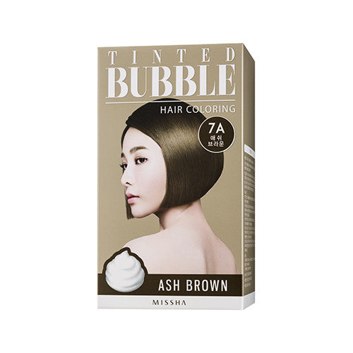 [MISSHA] Tinted Bubble Hair Coloring [Ash Brown]