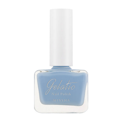 [MISSHA] Gelatic Nail Polish [BL01 Ice Soda]