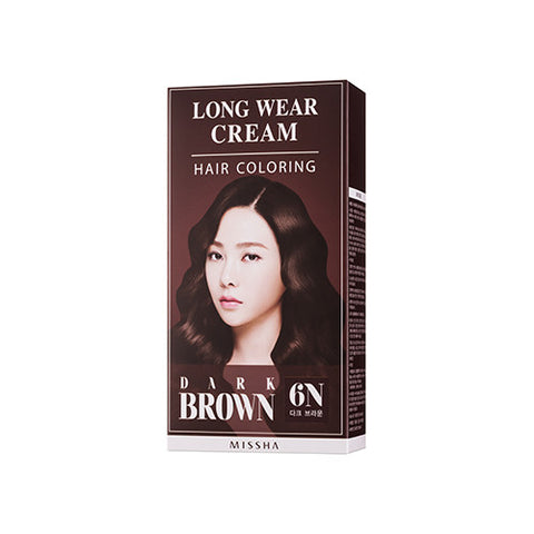 [MISSHA] Longwear Cream air Coloring [Dark Brown]