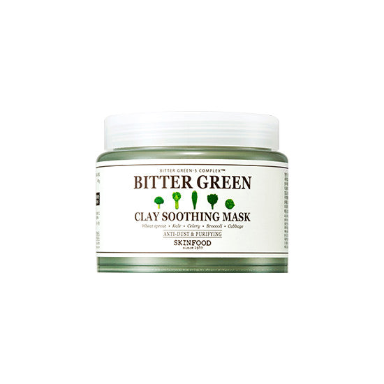[SKINFOOD] Bitter Green Clay Soothing Mask