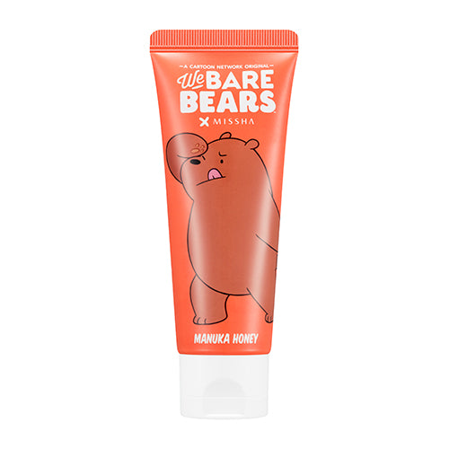 [MISSHA] Real Moist 25 Hand Cream (We Bare Bears) - Manuka Honey