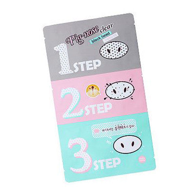 Holika Holika Pig Nose Clear Black Head 3-Step Kit