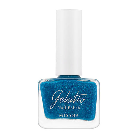 [MISSHA] Gelatic Nail Polish [Rich Blue]