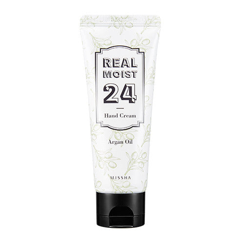 [MISSHA] Real Moist 24 Hand Cream [Argan Oil]